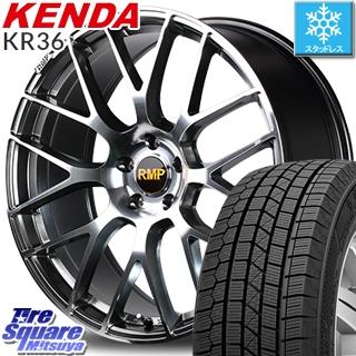【6/10は最大P45倍】 レガシー フォレスター KENDA ICETEC NEO KR36 2019年製【特価】ケンダ スタッドレスタイヤ 225/45R18 MANARAY RMP-028F ホイールセット 18インチ 18 X 7.0J +50 5穴 100
