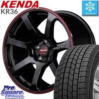 KENDA スタッドレスタイヤ ICETEC NEO KR36 2018年製 スタッドレス 225/65R17 MANARAY RMP RACING R07 ホイールセット 4本 17 X 7 +48 5穴 114.3