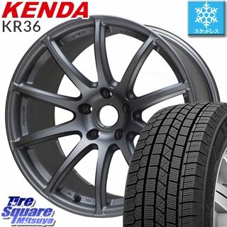 KENDA ICETEC NEO KR36 2019年製 スタッドレス スタッドレスタイヤ 215/60R17 RAYS GRAM LIGHTS 57Transcend 17 X 8 +35 5穴 114.3