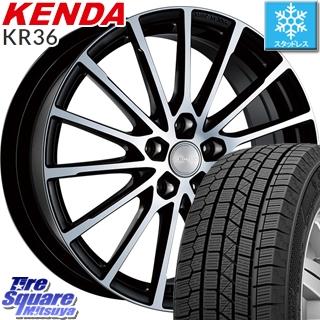 【6/10は最大P45倍】 KENDA ICETEC NEO KR36 2019年製【特価】ケンダ スタッドレスタイヤ 225/55R16 ブリヂストン ECOFORM エコフォルム CRS 171 ホイールセット 16インチ 16 X 6.5J +45 5穴 114.3