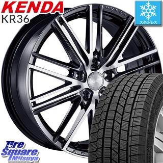 【4/20は最大26倍】 KENDA ICETEC NEO KR36 2019年製【特価】ケンダ スタッドレスタイヤ 195/60R15 ブリヂストン ECOFORME エコフォルム CRS 161 ホイールセット 15インチ 15 X 6.0J +45 5穴 100