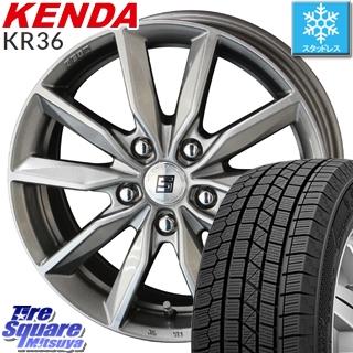 【5/10 Rカードで最大46倍】 CR-V KENDA ICETEC NEO KR36 2019年製【特価】ケンダ スタッドレスタイヤ 205/70R15 KYOHO SEIN SV ザインSV ホイールセット 15インチ 15 X 6.0J +53 5穴 114.3