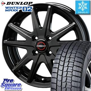 DUNLOP スタッドレスタイヤ ダンロップ WINTER MAXX 02 ウィンターマックス WM02 スタッドレス 175/60R15 BLEST EUROMAGIC Lance ST 15 X 5.5 +50 4穴 100