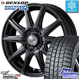 DUNLOP ダンロップ WINTER MAXX 02 ウィンターマックス WM02 スタッドレス スタッドレスタイヤ 165/70R13 MANARAY Final Speed GR-ガンマ ホイールセット 4本 13インチ 13 X 4 +43 4穴 100