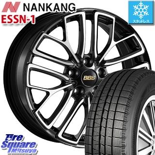 NANKANG TIRE ESSN-1 2019年製 スタッドレス スタッドレスタイヤ 225/40R18 BBS RE-X 鍛造1ピース ホイールセット 4本 18インチ 18 X 7.5 +52 5穴 114.3