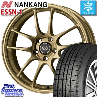 NANKANG TIRE ESSN-1 2019年製 スタッドレス スタッドレスタイヤ 235/40R18 ENKEI PerformanceLine PF01 ホイールセット 4本 18 X 8 +45 5穴 114.3