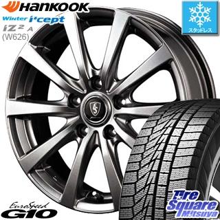 HANKOOK WINTER ICEPT W626 2018年製造品 スタッドレス スタッドレスタイヤ 235/50R18 MANARAY EUROSPEED ユーロスピード G10 ホイールセット 4本 18インチ 18 X 7 +48 5穴 114.3
