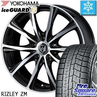 YOKOHAMA ヨコハマ ice GUARD6 アイスガード XL ig60 スタッドレス スタッドレスタイヤ 225/45R18 WEDS ウェッズ RIZLEY ライツレー ZM ホイールセット 4本 18インチ 18 X 7.5 +38 5穴 114.3