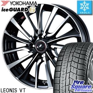 YOKOHAMA ヨコハマ ice GUARD6 アイスガード ig60 スタッドレス スタッドレスタイヤ 175/60R14 WEDS ウェッズ Leonis レオニス VT ホイールセット 4本 14インチ 14 X 5.5 +42 4穴 100
