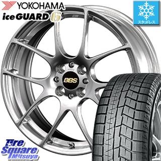 YOKOHAMA ice GUARD6 ig60 アイスガード ヨコハマ スタッドレスタイヤ スタッドレス 205/40R17 BBS RF 鍛造1ピース ホイールセット 4本 17インチ 17 X 7 +48 4穴 100