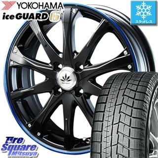 YOKOHAMA スタッドレスタイヤ ヨコハマ ice GUARD6 アイスガード ig60 スタッドレス 165/60R15 BLEST Bahnsport Type504 ホイールセット 4本 15インチ 15 X 5 +45 4穴 100
