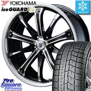 YOKOHAMA スタッドレスタイヤ ヨコハマ ice GUARD6 アイスガード ig60 スタッドレス 235/40R19 BLEST Bahnsport Type505 ホイールセット 4本 19インチ 19 X 7.5 +38 5穴 114.3