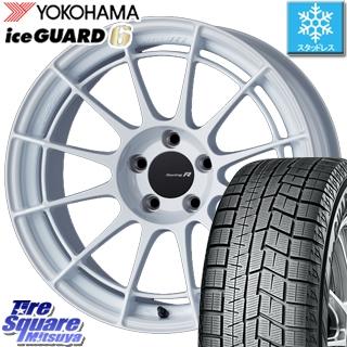 YOKOHAMA ice GUARD6 ig60 アイスガード ヨコハマ スタッドレスタイヤ スタッドレス 245/40R18 ENKEI Racing Revolution NT03RR ホイールセット 4本 18 X 8 +45 5穴 114.3