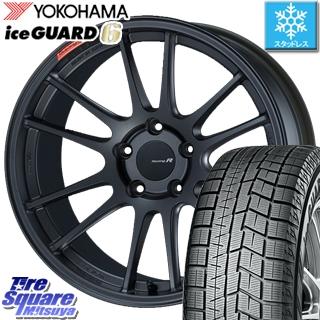 YOKOHAMA ice GUARD6 ig60 アイスガード ヨコハマ スタッドレスタイヤ スタッドレス 235/40R18 ENKEI Racing Revolution GTC01RR ホイールセット 4本 18 X 8 +45 5穴 114.3