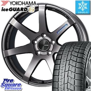 YOKOHAMA ice GUARD6 ig60 アイスガード ヨコハマ スタッドレスタイヤ スタッドレス 235/40R19 ENKEI PerformanceLine PF07 ホイールセット 4本 19 X 8.5 +42 5穴 114.3