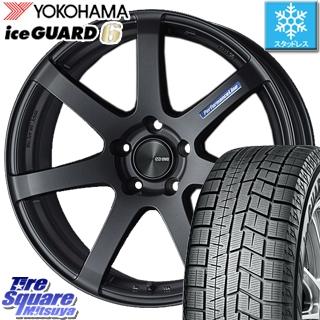 YOKOHAMA ice GUARD6 ig60 アイスガード ヨコハマ スタッドレスタイヤ スタッドレス 245/40R19 ENKEI PerformanceLine PF07 -COLORS- ホイールセット 4本 19 X 8 +45 5穴 114.3