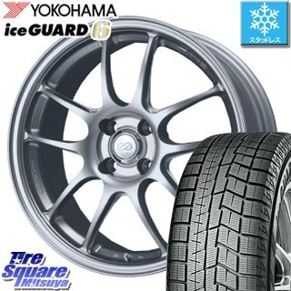 YOKOHAMA ice GUARD6 ig60 アイスガード ヨコハマ スタッドレスタイヤ スタッドレス 205/45R17 ENKEI PerformanceLine PF01 ホイールセット 4本 17 X 7 +38 4穴 100