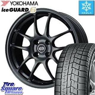YOKOHAMA ice GUARD6 ig60 アイスガード ヨコハマ スタッドレスタイヤ スタッドレス 195/45R17 ENKEI PerformanceLine PF01 ホイールセット 4本 17 X 7 +45 4穴 100