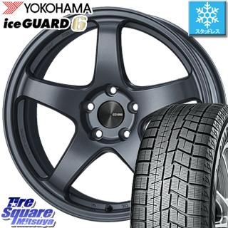 YOKOHAMA ice GUARD6 ig60 アイスガード ヨコハマ スタッドレスタイヤ スタッドレス 245/40R19 ENKEI PerformanceLine PF05 ホイールセット 4本 19インチ 19 X 8 +45 5穴 114.3