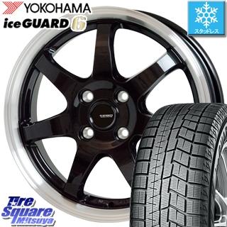 YOKOHAMA ice GUARD6 ig60 アイスガード ヨコハマ スタッドレスタイヤ スタッドレス 175/70R14 HotStuff 軽量設計!G.speed P-03 ホイールセット 4本 14インチ ●3月末迄特価 14 X 5.5 +38 4穴 100