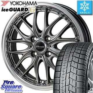 YOKOHAMA スタッドレスタイヤ ヨコハマ ice GUARD6 アイスガード ig60 スタッドレス 175/65R15 MONZA Warwic DEEPRAND ホイールセット 4本 15 X 5.5 +50 4穴 100