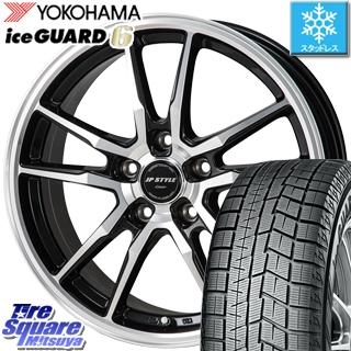 スイフト スイフトスポーツ YOKOHAMA iceGUARD6 ig60 アイスガード ヨコハマ スタッドレスタイヤ 175/65R15 MONZA JP STYLE CRAVER ホイールセット 15 X 6.0J +43 5穴 114.3