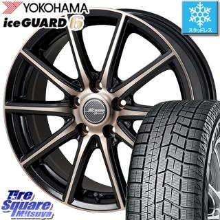 YOKOHAMA スタッドレスタイヤ ヨコハマ ice GUARD6 アイスガード ig60 スタッドレス 185/65R15 MONZA R VERSION sprint ホイールセット 4本 15 X 6 +43 5穴 114.3