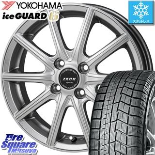 YOKOHAMA スタッドレスタイヤ ヨコハマ ice GUARD6 アイスガード ig60 スタッドレス 165/50R16 Japan三陽 ZACK Sport01 ホイールセット 4本 16インチ 16 X 5 +45 4穴 100