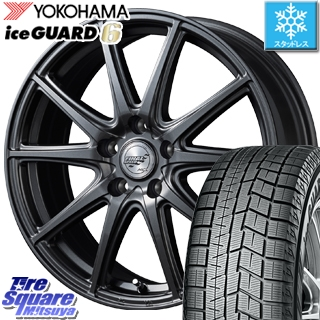 YOKOHAMA スタッドレスタイヤ ヨコハマ ice GUARD6 アイスガード ig60 スタッドレス 205/65R16 MANARAY Final Speed GR-ガンマ ホイールセット 4本 16インチ 16 X 6.5 +48 5穴 114.3