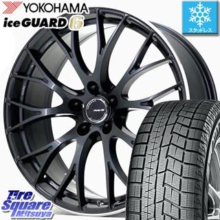 YOKOHAMA ice GUARD6 ig60 アイスガード ヨコハマ スタッドレスタイヤ スタッドレス 235/40R19 RAYS HOMURA 2X10 RCF MODEL 19 X 8 +45 5穴 114.3