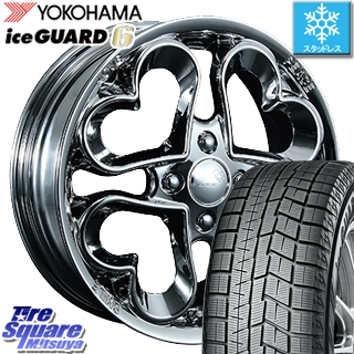 YOKOHAMA スタッドレスタイヤ ヨコハマ ice GUARD6 アイスガード ig60 スタッドレス 155/65R14 PIAA JEWEL HEART 14 X 4.5 +45 4穴 100