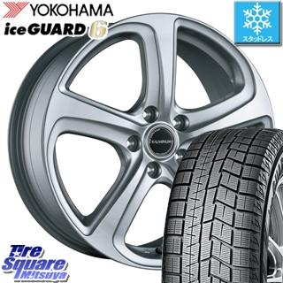YOKOHAMA スタッドレスタイヤ ヨコハマ ice GUARD6 アイスガード ig60 スタッドレス 205/65R15 ブリヂストン BALMINUM ZR5 ホイールセット 4本 15 X 6 +53 5穴 114.3