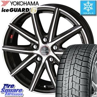 YOKOHAMA ice GUARD6 ig60 アイスガード ヨコハマ スタッドレスタイヤ スタッドレス 215/45R18 KYOHO スマック ヴァニッシュ SMACK VANISH ホイールセット 4本 18インチ 18 X 7.5 +38 5穴 114.3