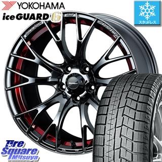 YOKOHAMA ice GUARD6 ig60 アイスガード ヨコハマ スタッドレスタイヤ スタッドレス 245/40R18 WEDS 72802 WedsSport SA-20R ウェッズ スポーツ ホイールセット 4本 18インチ 18 X 8.5 +50 5穴 114.3