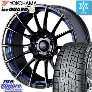 YOKOHAMA ice GUARD6 ig60 アイスガード ヨコハマ スタッドレスタイヤ スタッドレス 245/40R18 WEDS 72700 WedsSport SA-72R ウェッズ スポーツ ホイールセット 4本 18インチ 18 X 8.5 +50 5穴 114.3