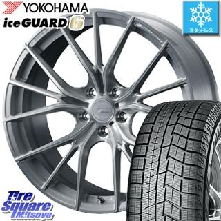 YOKOHAMA ice GUARD6 ig60 アイスガード ヨコハマ スタッドレスタイヤ スタッドレス 235/45R18 WEDS F ZERO FZ-1 鍛造 FORGED ホイールセット 4本 18 X 7.5 +38 5穴 114.3