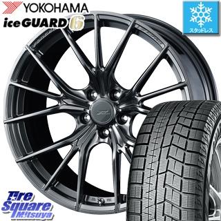 YOKOHAMA ice GUARD6 ig60 アイスガード ヨコハマ スタッドレスタイヤ スタッドレス 245/40R19 WEDS F ZERO FZ-1 鍛造 FORGED ホイールセット 4本 19 X 8 +48 5穴 114.3