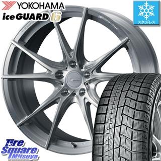 YOKOHAMA ice GUARD6 ig60 アイスガード ヨコハマ スタッドレスタイヤ スタッドレス 235/50R18 WEDS F ZERO FZ-2 鍛造 FORGED ホイールセット 4本 18 X 8 +45 5穴 114.3