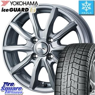 YOKOHAMA ヨコハマ ice GUARD6 アイスガード ig60 スタッドレス スタッドレスタイヤ 165/70R14 WEDS ジョーカーシェイク ホイールセット 4本 14インチ 14 X 4.5 +45 4穴 100