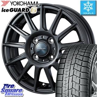 YOKOHAMA ヨコハマ ice GUARD6 アイスガード ig60 スタッドレス スタッドレスタイヤ 175/70R13 WEDS ジョーカー イゴール ホイールセット 4本 13インチ 13 X 5 +36 4穴 100
