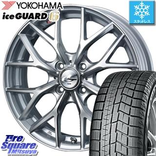 YOKOHAMA ice GUARD6 ig60 アイスガード ヨコハマ スタッドレスタイヤ スタッドレス 165/65R15 WEDS 37404 レオニス MX ウェッズ Leonis ホイールセット 4本 15インチ 15 X 4.5 +45 4穴 100