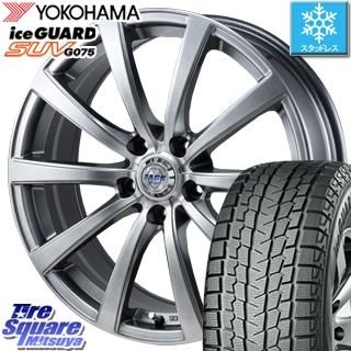 YOKOHAMA スタッドレスタイヤ ヨコハマ ice GUARD SUV アイスガード G075 スタッドレス 225/65R17 Japan三陽 ZACK ザック JP-110 10本スポーク ホイールセット 4本 17インチ 17 X 7 +48 5穴 114.3