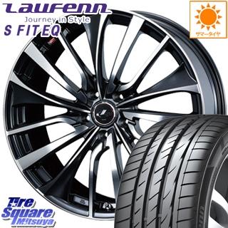 16 サマータイヤ Laufenn レオニス 5穴 ハンコック HANKOOK ホイールセット 4本 Fit X EQ ウェッズ WEDS 195/55R16 VT +52 16インチ ラウフェン LK01 6.5 S Leonis 114.3