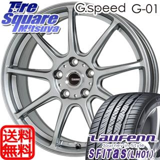 HANKOOK ハンコック Laufenn ラウフェン S Fit AS LH01 サマータイヤ 215/55R17 HotStuff 軽量設計!G.speed G-01 ホイールセット 4本 17インチ 17 X 7 +55 5穴 114.3