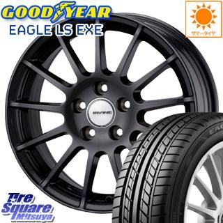 グッドイヤー EAGLE イーグル LS EXE サマータイヤ 215/60R16 WEDS ウェッズ IRVINE ホイールセット 4本 16インチ 16 X 6.5(VW) +46 5穴 112