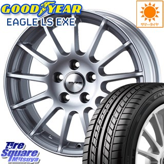 グッドイヤー EAGLE イーグル LS EXE サマータイヤ 205/60R16 WEDS ウェッズ IRVINE ホイールセット 4本 16インチ 16 X 7(NEW) +39 5穴 112