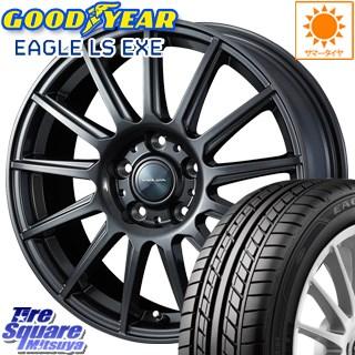 グッドイヤー EAGLE イーグル LS EXE サマータイヤ 215/65R16 WEDS ヴェルバ イゴール ホイールセット 4本 18インチ 16 X 6.5 +53 5穴 114.3
