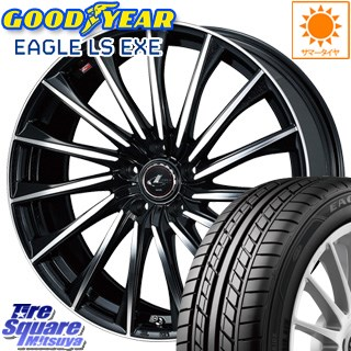 グッドイヤー EAGLE イーグル LS EXE サマータイヤ 215/45R18 WEDS ウェッズ Leonis レオニス CH ホイールセット 4本 18インチ 18 X 8 +42 5穴 114.3