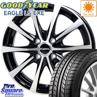 グッドイヤー EAGLE イーグル LS EXE サマータイヤ 195/60R15 HotStuff Laffite ラフィット LE-03 ホイールセット 4本 15インチ 15 X 5.5 +43 4穴 100