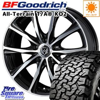 BF Goodrich グッドリッチ オールテレーン TA T/A KO2 ブラックウォール サマータイヤ 215/65R16 WEDS 37471 ウェッズ RIZLEY ライツレー ZM ホイールセット 4本 16インチ 16 X 6.5 +53 5穴 114.3
